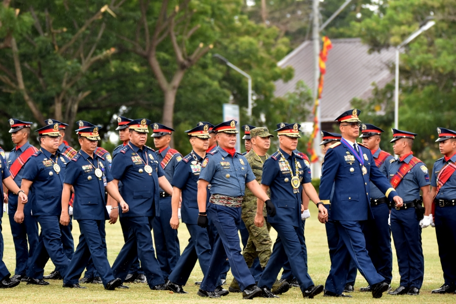 Cops honor top brass